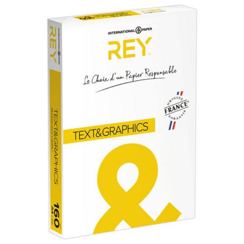 Ramette de papier A4 Rey ''Text & Graphics'' 160 g/m².