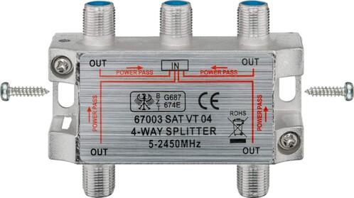 Splitter 4 directions Sat II