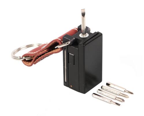 Porte-clés outils à lunettes et lampe LED