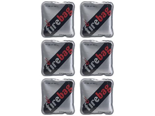 6 chaufferettes de poche ''Firebag''
