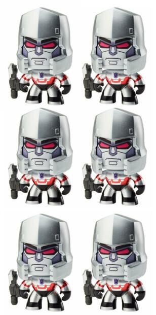 6 figurines Transformers Mighty Muggs - Megatron