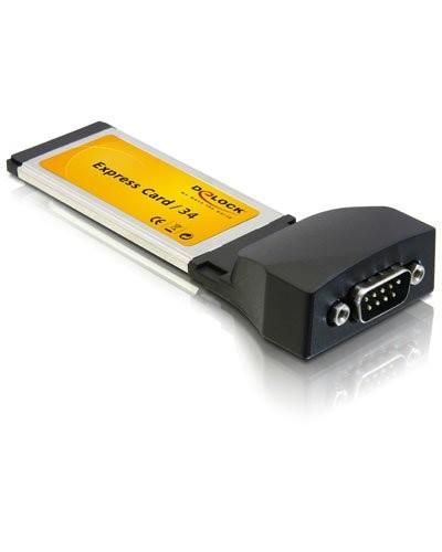 Adaptateur Express Card 1X série DB9 RS-232 DeLock