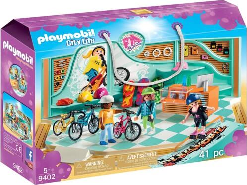 Playmobil Boutique de Skate et Vélos 9402.