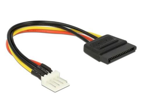 Câble d'alimentation Floppy / SATA Delock