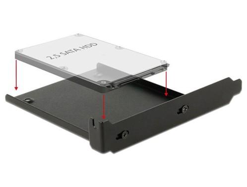 Cadre de montage pour disque 2,5'' dans slot PCI Delock