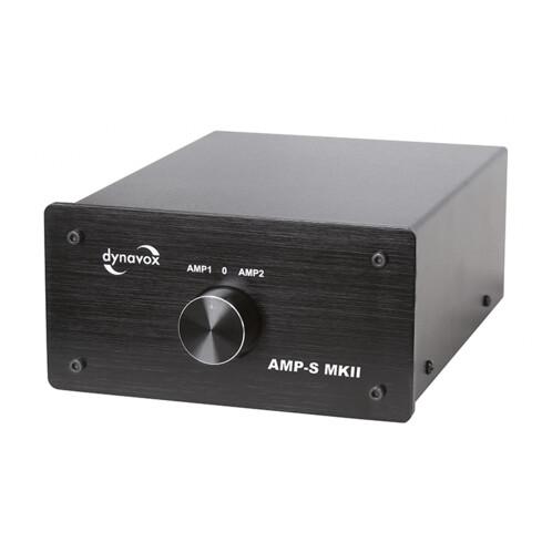 Commutateur Dynavox AMP-S MKII noir.