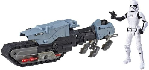 Figurine Stormtrooper et sa moto - 27 cm