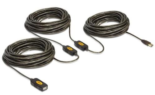 Rallonge USB 2.0 Delock - 30m