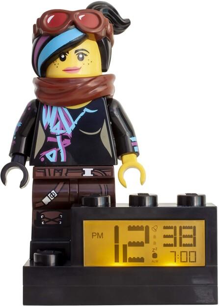 Réveil LEGO rétroéclairé Wyldstyle The LEGO Movie 2.