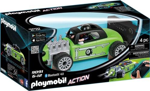 Playmobil voiture radiocommandée Rock'N Roll Racer 9091.