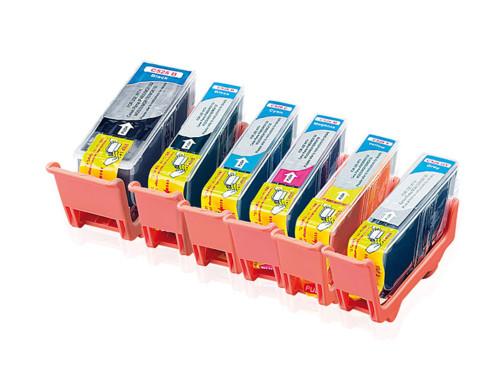 6 Cartouches I Color compatibles Color Pack avec puce