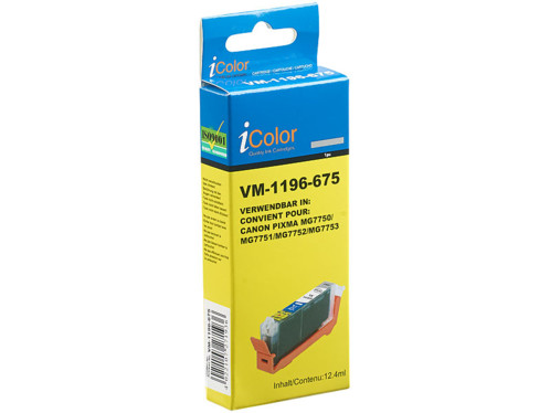 Cartouche compatible Canon CLI571 XL - Gris