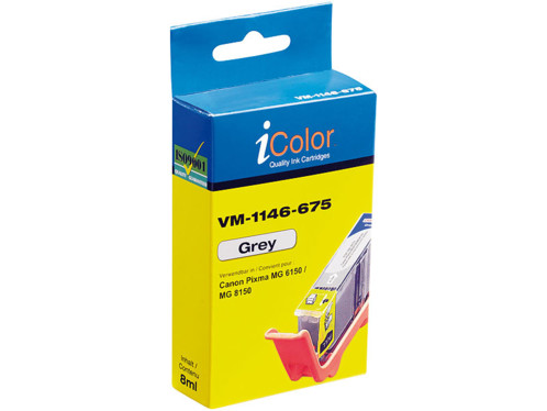 Cartouche compatible Canon CLI-526GY - Gris