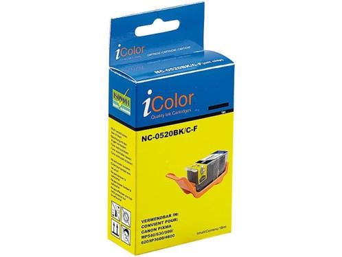 Cartouche I Color compatible Canon - noir