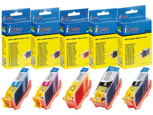 Cartouches I Color compatibles Color Pack avec puce