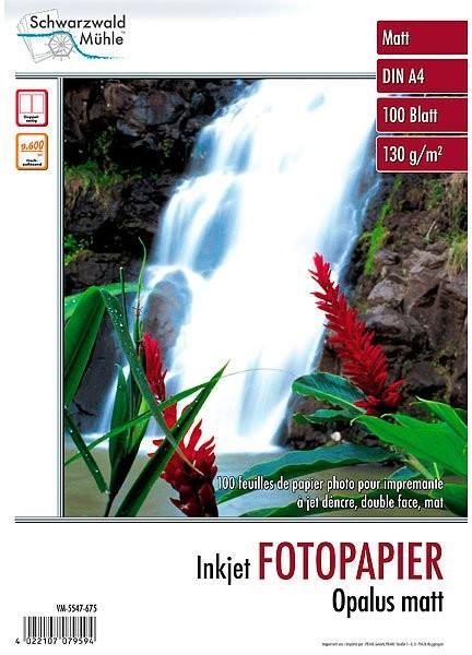 100 feuilles papier photo double face mat A4 - 130 G