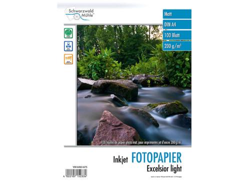 """100 feuilles de papier photo """"Excelsior"""" mat 200g/m² A4"""