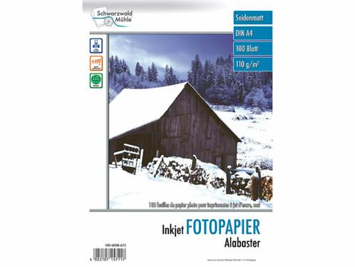 100 feuilles papier photo mat A4 - 110 G