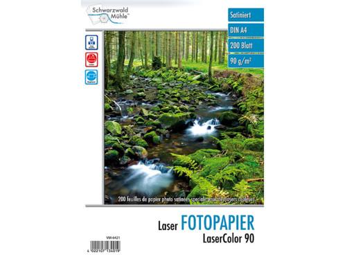 """200 feuilles de papier photo """"LaserColor 90"""" 90 g/m² A4"""