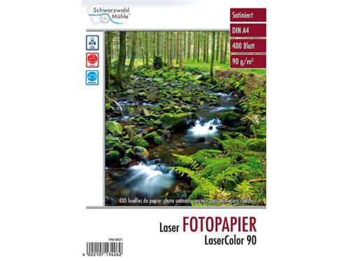"""400 feuilles de papier photo """"LaserColor 90"""" 90 g/m² A4"""
