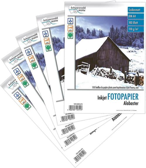 500 feuilles papier photo mat A4 - 110 G