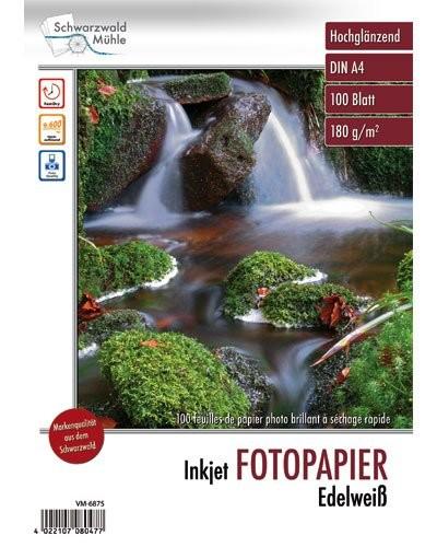 100 feuilles papier photo brillant A4 - 180 G