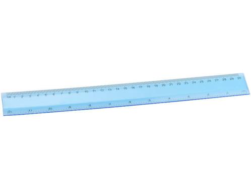 Règle souple 30cm, coloris bleu