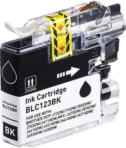 Cartouche compatible Brother LC-123BK - Noir