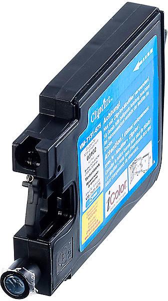 Réservoir Cliprint compatible Brother LC-1240C - Cyan