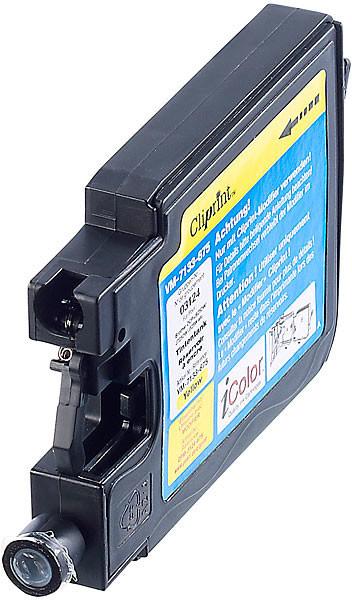 Réservoir Cliprint compatible Brother LC-1240Y - Jaune