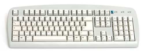 Clavier PS/2 standard