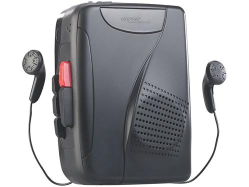 Baladeur encodeur de cassettes Auvisio avec enregistreur vocal.