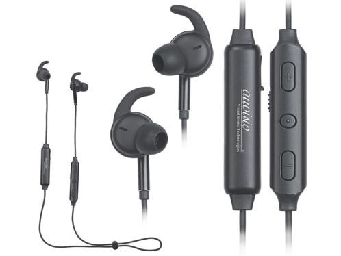 paire ecouteurs sans fil bluetooth sport avec technologie aptX et noise cancelling pour bruit ambiant longue autonomie IHS-650 auvisio