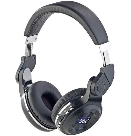 Casque MP3 pliable avec bluetooth et radio FM MPH-350.mic