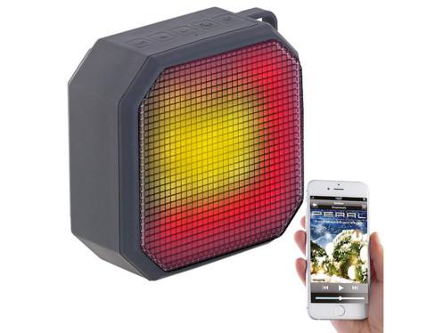 Haut-parleur MP3 actif 6 W sanf fil à effets lumineux LSS-236