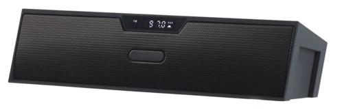 enceinte bluetooth longue autonomie auvisio mss-490 avec radio fm et lecteur mp3 usb microsd