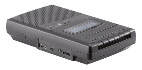 walkman lecteur de cassette k7 mobile avec poignée et lecteur USB mp3 retro vintage