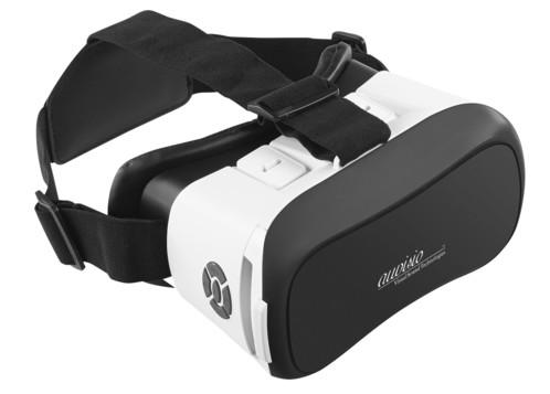 masque VR réalité virtuel avec boutons de contrôle bluetooth V6 auvisio