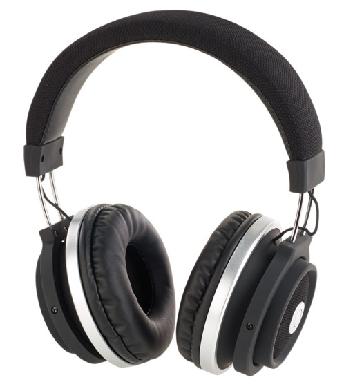 casque audio over ear bluetooth avec commandes tactiles sur ecouteur auvisio ohs-150.t