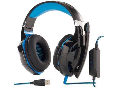 Casque Gaming Led Avec Micro Et Son Surround 71 Ghs 400 Mod It