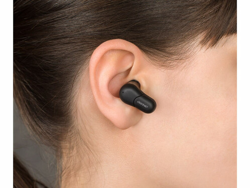 paire d'ecouteurs audio bluetooth airpods avec boite de rechargement avec batterie integrée pas cher ihs520 auvisio