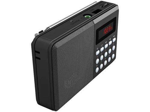 mini poste radio fm avec lecteurs usb micro sd et bluetooth intégrébatterie intégrée tar-720 auvisio
