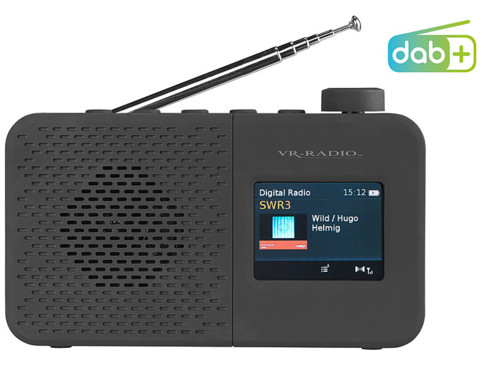 Radio numérique nomade DAB+/FM avec haut-parleur 2 W DOR-245