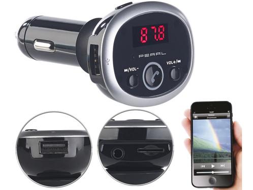 Transmetteur FM bluetooth avec lecteur MP3 et port USB