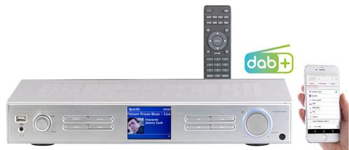 tuner recepteur radio fm dab+ numerique internet avec application et telecommande sans haut parleur IRS690 vr-radio