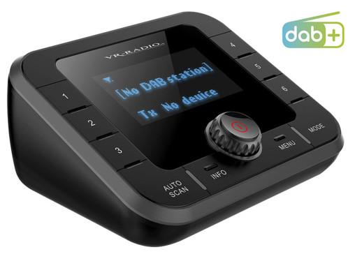 Tuner radio DAB+/ FM à fonctions bluetooth et streaming DOR-280.bt