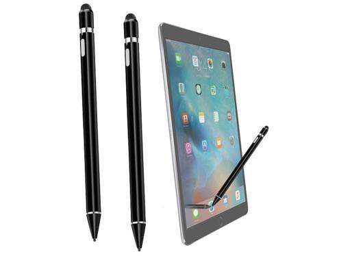 2 stylets actifs rechargeables pour écran tactile - compatible iPad Pro