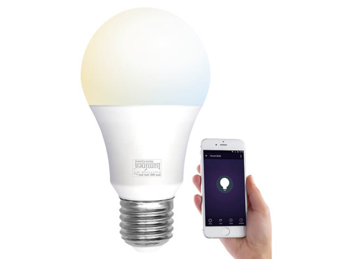 Ampoule LED LAV-110.w connectée par application mobile.