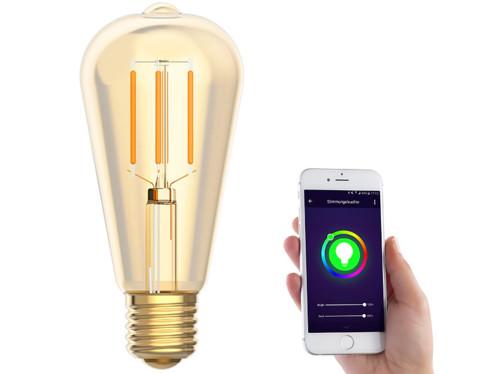 Ampoule LED LAV-125.w connectée par application mobile.