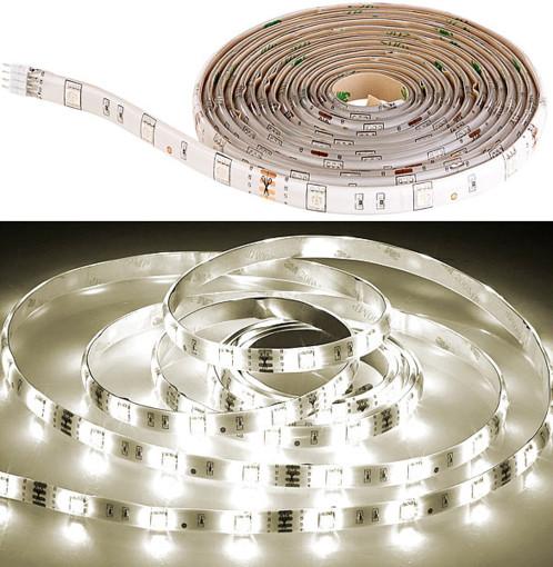 Bande LED LAM-206 à intensité variable 600 lm - 2 m blanc chaud